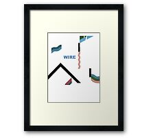 Wire 154 Framed Print