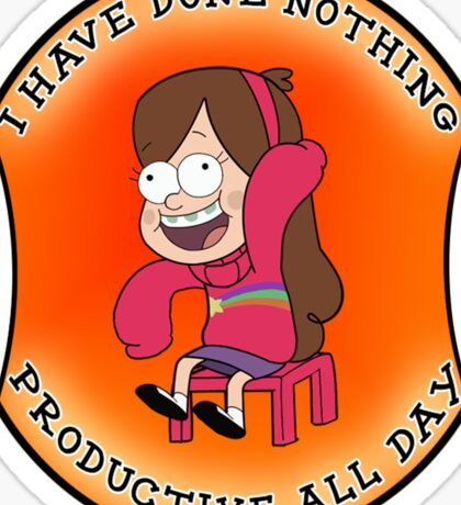 Mabel have done nothing Sticker
