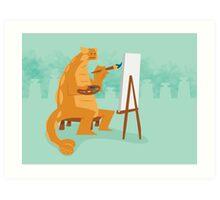 Artistic Ankylosaurus Art Print