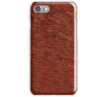 Rust Baga Catechu Cutch  iPhone Case/Skin