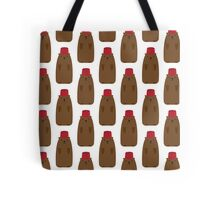 Groundhog in a Fez pattern Tote Bag
