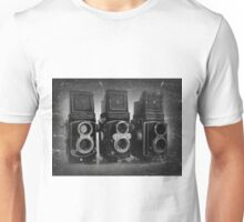 Twin Lens Trio Unisex T-Shirt