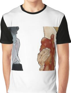 Frodo and Sam Holding Hands Graphic T-Shirt