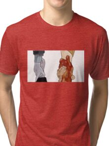 Frodo and Sam Holding Hands Tri-blend T-Shirt