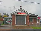 Fire Station, Kurri Kurri, N.S.W. Australia by Margaret  Hyde