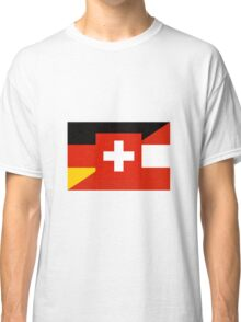 German Language Flag Classic T-Shirt