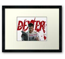 Dexter Kill the killer Framed Print