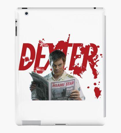 Dexter Kill the killer iPad Case/Skin