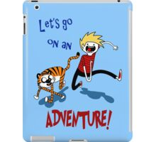 Adventure Time with Calvin and Hobbes iPad Case/Skin