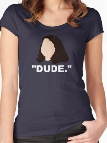 Hurley - LOST - DUDE  Women's Fitted Scoop T-Shirt