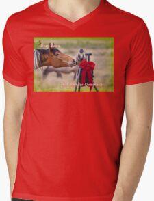List for Santa Mens V-Neck T-Shirt