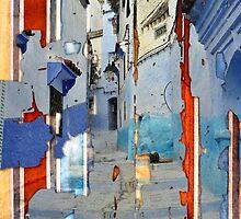 Blue Town by ArtByRuta