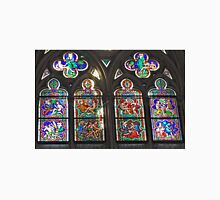 Stained Glass in Cologne Cathedral Unisex T-Shirt