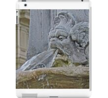 Running off at the mouth iPad Case/Skin