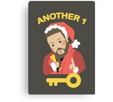 DJ Khaled: Another Key to Success  Canvas Print