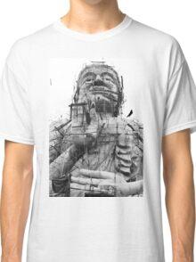 Buildling Buddha Classic T-Shirt