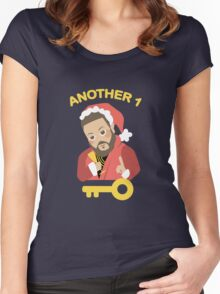 DJ Khaled: Another Key to Success  Women's Fitted Scoop T-Shirt