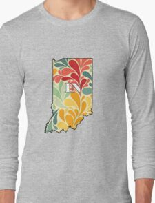 Floral Indiana Long Sleeve T-Shirt