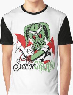 Sailor Cthulu Graphic T-Shirt