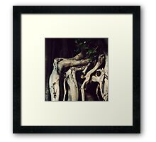 I am old and weary Framed Print