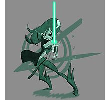 Fantasy Girl with Beam Saber Photographic Print