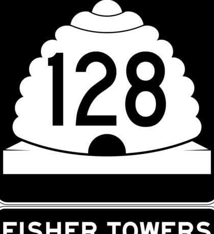 Utah 128 - Fisher Towers Sticker