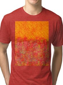 Sally Wattle Hickory or Mudgerabah Lake County Fire  Tri-blend T-Shirt