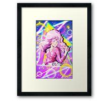 80s Anime Jem Framed Print