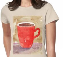Coffee, coffee, coffee! Womens Fitted T-Shirt
