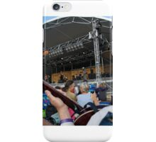 Audience banjo player and Serena Ryder iPhone Case/Skin
