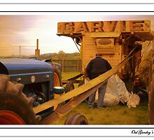 The Oul Garvie Thresher by oulgundog