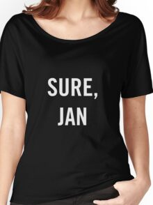 Sure, Jan Women's Relaxed Fit T-Shirt