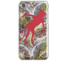 Monkey in the grasses iPhone Case/Skin