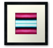 Pinky-blue Framed Print