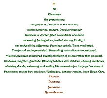 Christmas Tree Shape Poem by msdebbie