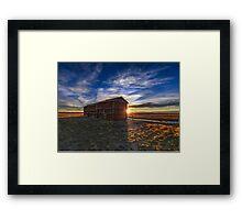 Prairie Grainerys Framed Print