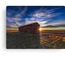 Prairie Grainerys Canvas Print
