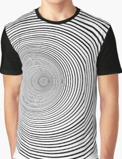 Psychedelic Whirlpool Graphic T-Shirt