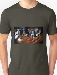 Safe In The Arms Of Love - Puppy Art T-Shirt