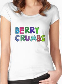 Berry Crumbs Cereal Logo Women's Fitted Scoop T-Shirt