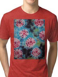 Tie Dye - DinamikTiDi pattern 1   Tri-blend T-Shirt