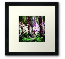 ELEMENTS : EARTH Framed Print