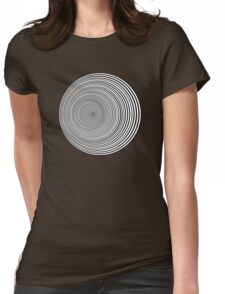 Psychedelic Whirlpool Womens Fitted T-Shirt