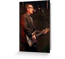 Elvis Costello Greeting Card