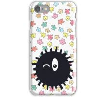 Lighthearted Soot Sprite iPhone Case/Skin