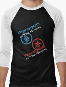 Paragon In The Streets Renegade In The Sheets Men's Baseball ¾ T-Shirt