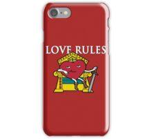 Love Rules iPhone Case/Skin