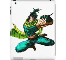 Joseph Joestar - JoJo's Bizarre Adventure iPad Case/Skin