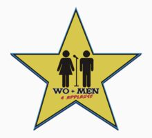 WO+MEN 4 APPLAUSE™ Comedy Shows Logo Kids Tee