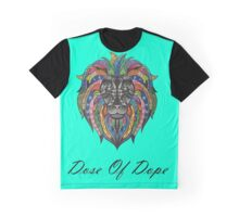 Color Lion Dose Of Dope Graphic T-Shirt